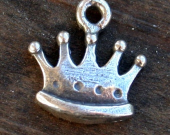 Little Crown Charm Sterling Silver CH80