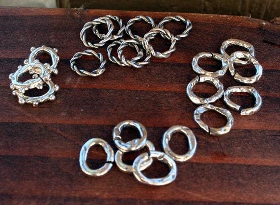 Links Jump rings Sterling Artisan