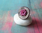Violet Lily ring