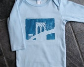 Baby Brooklyn Bridge Long Sleeve Onesie