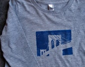 children's brooklyn bridge tee, long sleeve