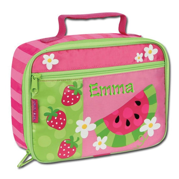 Personalized Lunch Bag Watermelon Stephen Joseph Children Girl