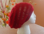 SUMMER SLOUCH - RED - ON SALE
