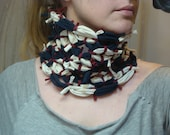 The Treasure Hunter's Cowl - Made from Recycled Tee-Shirts