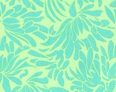 Amy Butler Daisy Bouquet Turquoise - 1/2 yd