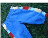 Primarily Patchwork Pants  12 mo.   SALE
