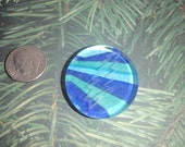 Stella Blue - Etched Glass Magnet
