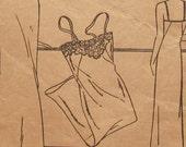 1930s Women's Slip Bust 34 Hip 37