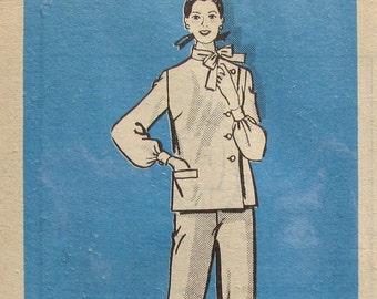 UNCUT Anne Adams Pants and Top Size 14 Bust 36