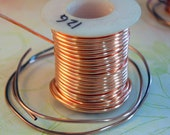 10 FT - 12G Solid Copper or Brass  Wire -raw   -  Free Shipping USA