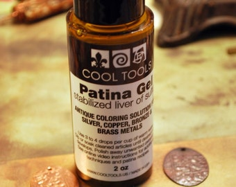 Patina Gel, Liver of Sulphur Oxidizer and Patina for Copper, Brass and Silver Free Shipping US