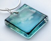 ttv clouds pendant - hangs on 18 inch chain