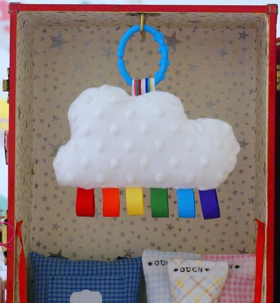 Rainbow Cloud Baby Toy