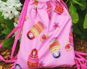 Learn how to make a Drawstring Bag Draw String eBook Instructions Directions PDF File Format