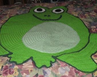 Unique Phinehas the Frog Afghan Blanket Throw Gift Present Christmas Children Teen Tween Girl Boy Graduation Birthday Graduation Fathers Day