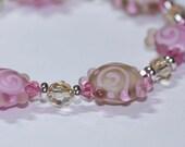 Softly Spoken Bracelet and Earrings Set
