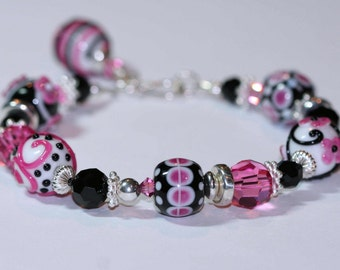 Parisian Pink Bracelet