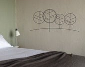 4 Trees - vinyl wall decals