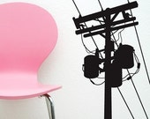 Power Pole - Vinyl wall art decals stickers graphic