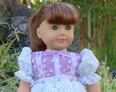 Mini Blossoms Doll dress fits 18 inch doll or  American Girl Doll