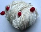 Nippon -  handspun merino worldcup soccer art yarn