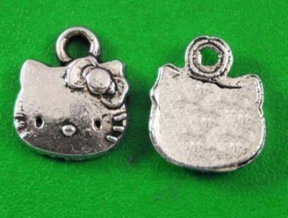 Hello Kitty Head Charms lot of 10 - LAST CHANCE CLEARANCE