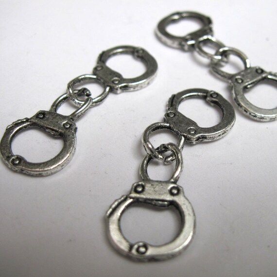 Mini Handcuff Charm Lot of 100 - Wholesale Lot