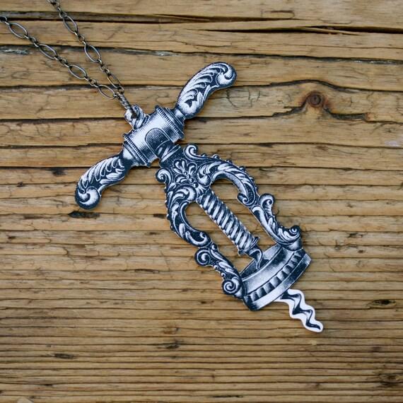 Victorian Corkscrew Necklace