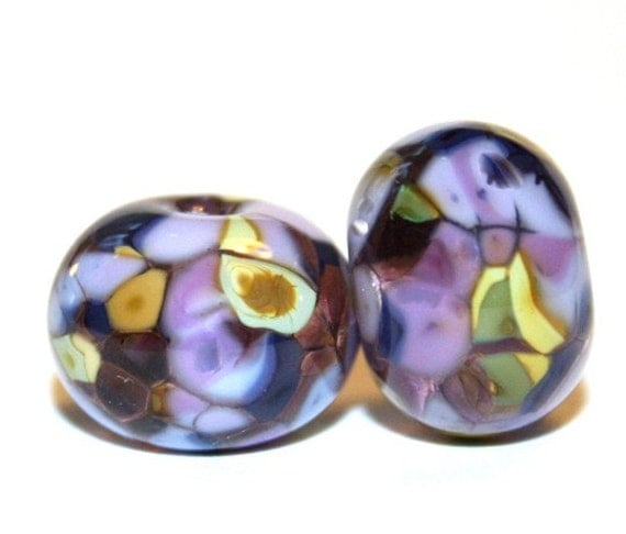 aristocracy lwork glass bead pair artist by fireandfibers
