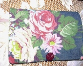 Book Cover Trade Size Ralph Lauren Fabric Vintage Button