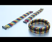 Colombian Flag colored bracelets for gigiiza