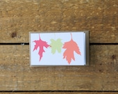 SALE Fall Leaves Cards (set of 10)
