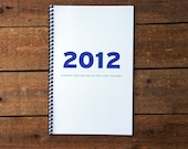 CLEARANCE 2012 Minimalism Planner