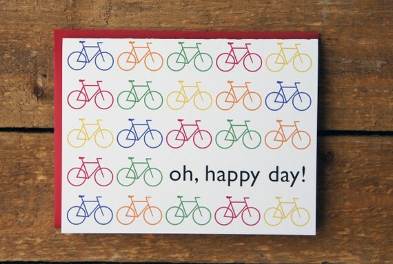 SALE Bicycle Stationery