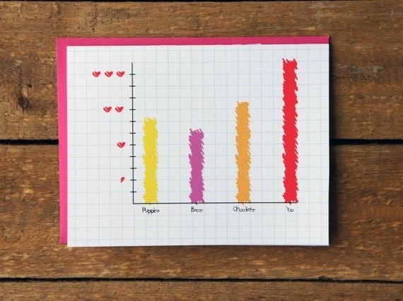 Geeky Love Note Card