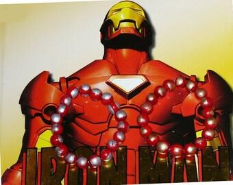 Iron Man Colors Wood Bracelets