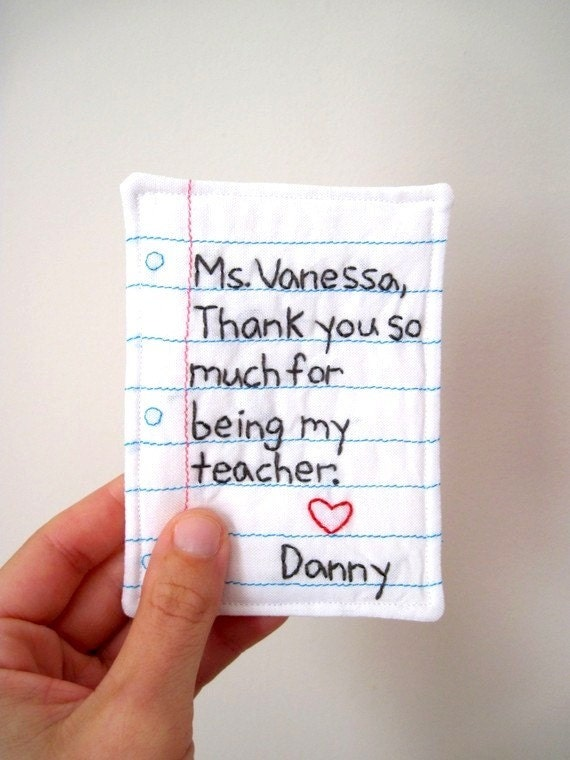Items Similar To Personalized Teacher Gift Hand