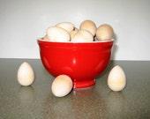 Wood Eggs (small) (10 qty)