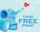 Third Free Print - Buy Two Archival Prints And Get The Third Print For Free  - Oksancia