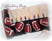 Football Fun Time Crayon Roll Up - 927 - FREE SHIPPING