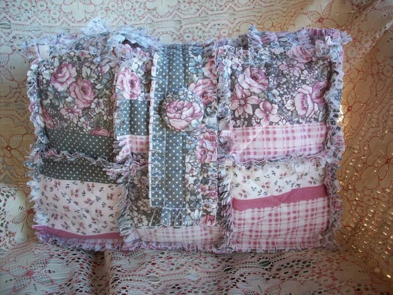 Shabby Bags - Easy  Rag Quilt Bag Tote, Purse  INSTRUCTIONS