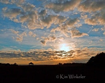 Sky at Sunset--Fine Art Photograph  8x10