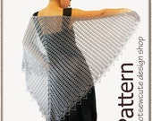 Wrapped in Lace Shawl - Crochet Pattern (PDF) - INSTANT DOWNLOAD