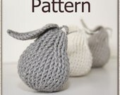 Pear Accent - Crochet Pattern (PDF) - INSTANT DOWNLOAD