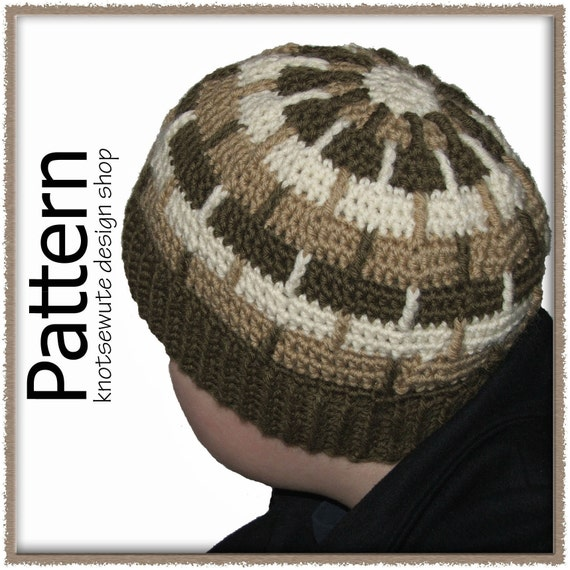 Child's Wool Toque - Crochet Pattern (PDF) - INSTANT DOWNLOAD