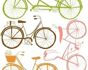 Coasting 11x14 Collection Bike Art Print