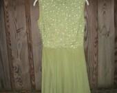 1960s cocktail dress / 60s party dress