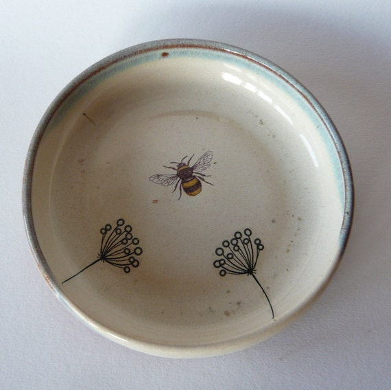 Bee and Plants Bowl
