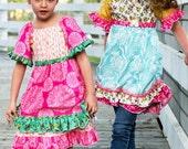 Pink Fig Vintage Jane Peasant Top & Dress Sewing Pattern, FREE SHIPPING