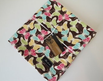 Bright Butterfly Baby Blanket Swaddler--LARGE